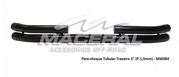 """Para-choque Tubular Traseiro 3"""""""