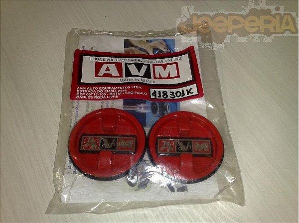 Kit para manutenção calota - Toda Roda Livre AVM manual padrão