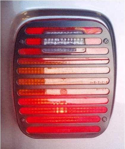 Protetor De Lanternas Traseiras Troller T4 Até 2014