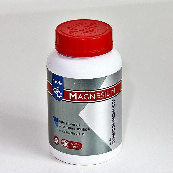 Magnesium Cloreto de Magnésio PA - 60 cápsulas