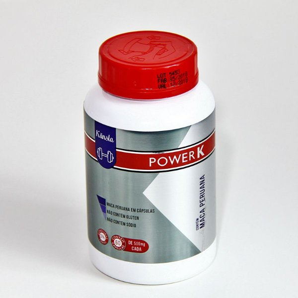 Power K Maca Peruana 60 cápsulas - 500mg