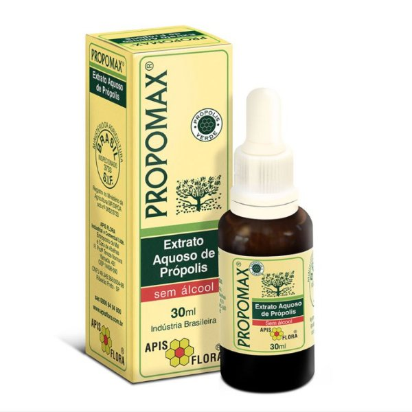 Propomax - Extrato de Própolis Sem Álcool 30 ml - Apis Flora