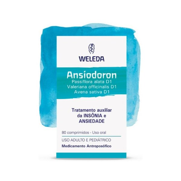 Ansiodoron - 80 comprimidos