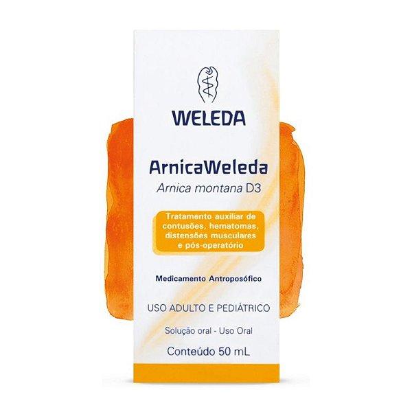 Arnica Weleda Gotas - 50ml