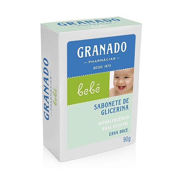 Sabonete de Glicenina Erva doce Bebê 90g