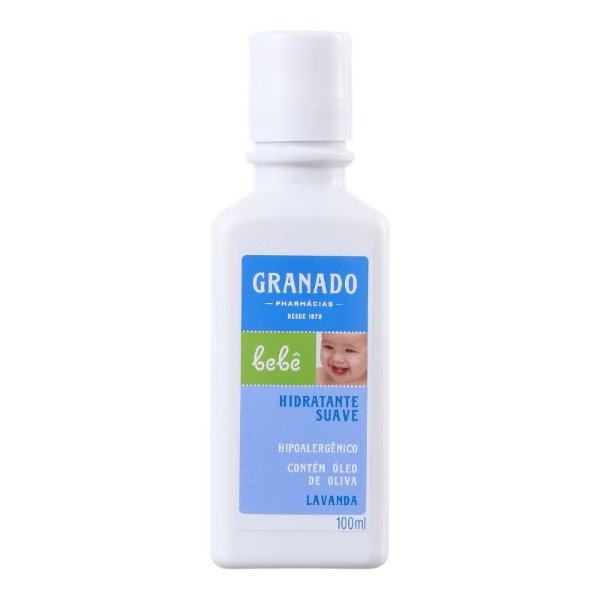 Hidratante Suave Lavanda Bebê 100mL