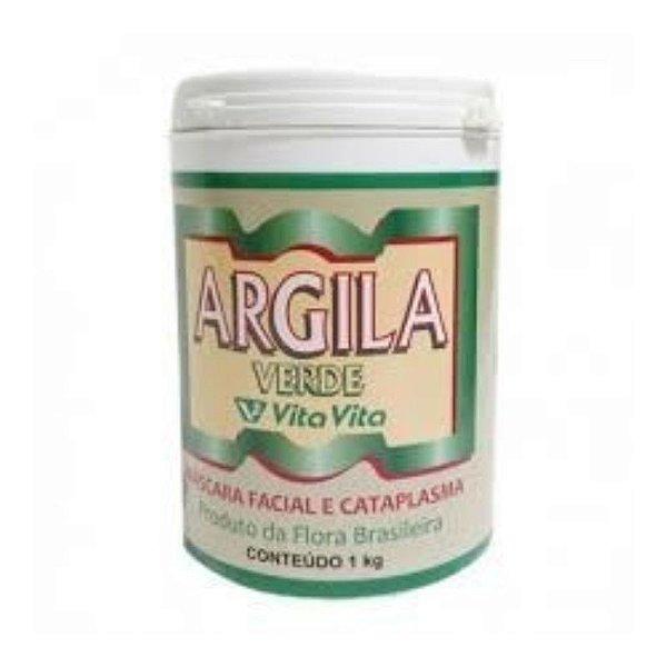 Argila Verde 1kg - Vita Vita