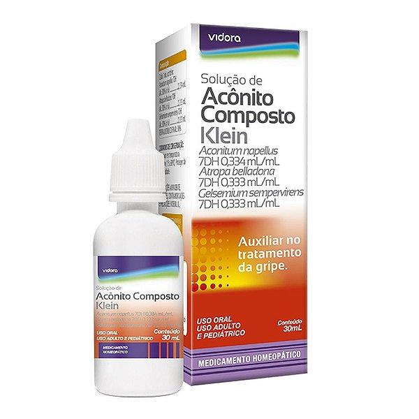 Solução de Aconitum composto Klein 30ml