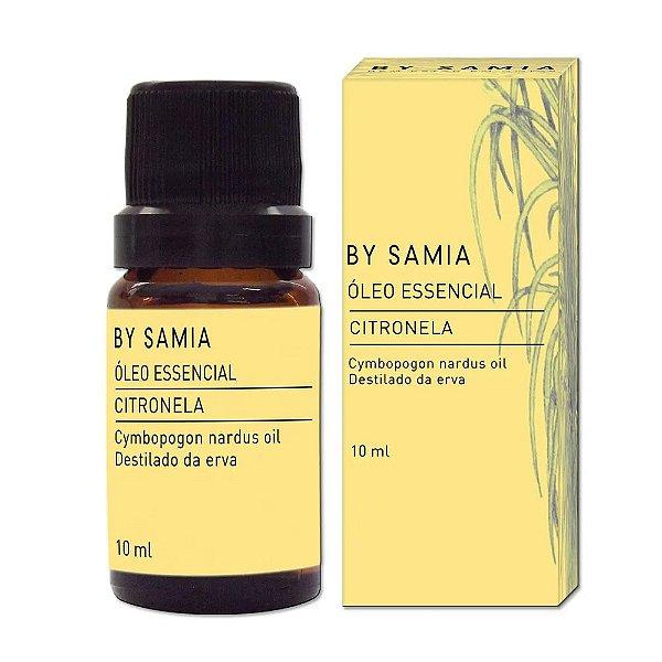 Óleo Essencial de Citronela 10ml - By Samia