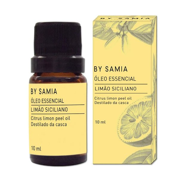 Óleo Essencial de Limão Siciliano 10ml - By Samia