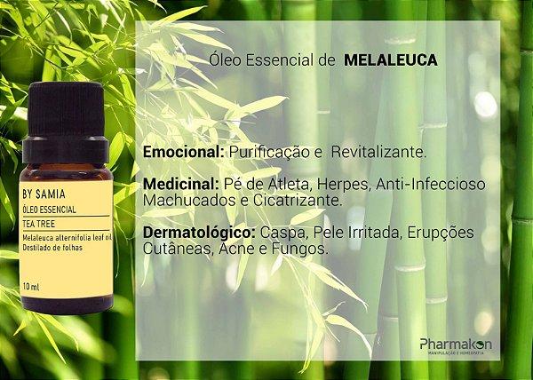 Óleo Essencial de Tea Tree (Melaleuca) 10ml - By Samia