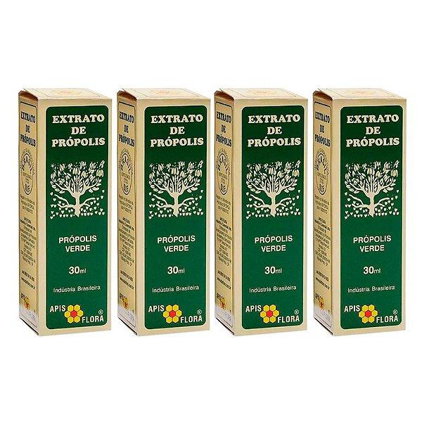 Kit com 4 - Extrato de Própolis Verde 30 ml