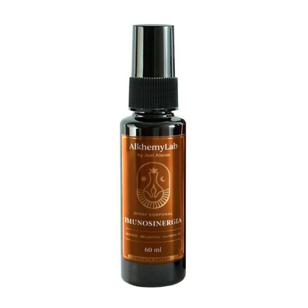 Spray Corporal - IMUNOSINERGIA  60ML - Joel Aleixo Alkhemylab