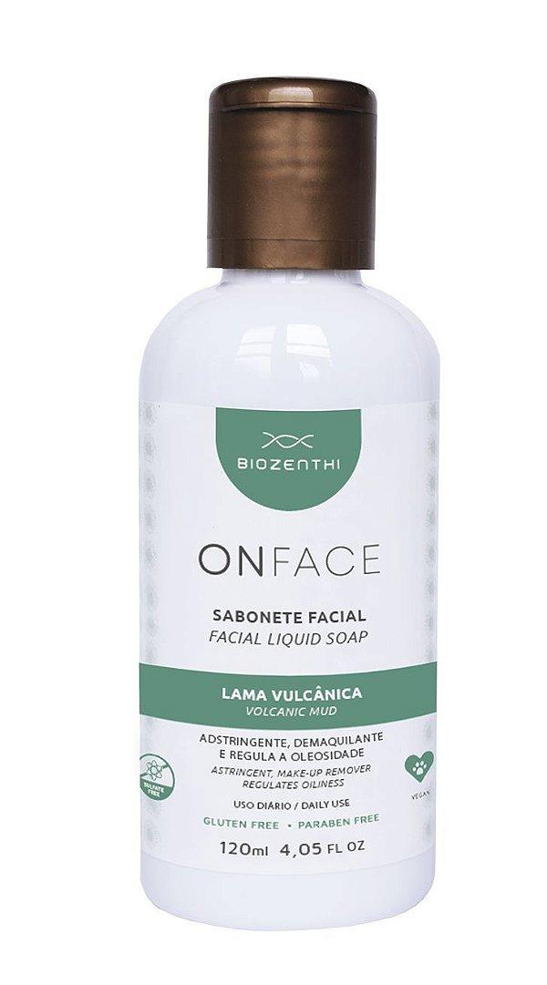 Onface Sabonete Adstringente lama vulcânica 120ml - Biozenthi