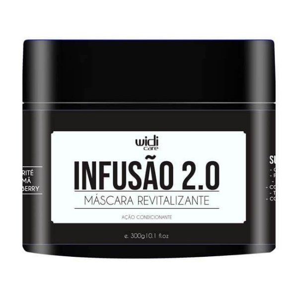 Infusão 2.0 Máscara Revitalizante 300g - Widi Care