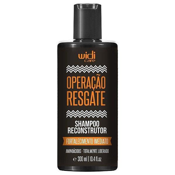 Operação Resgate Shampoo Reconstrutor 300ml - Widi Care