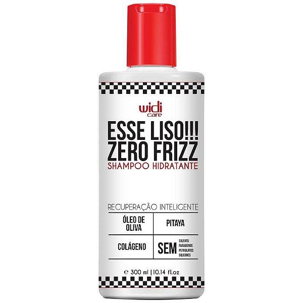 Esse Liso!!! Zero Frizz Shampoo Hidratante 300ml - Widi Care