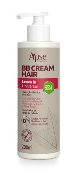 BB Cream Hair Leave-In Universal 200ml - Apse