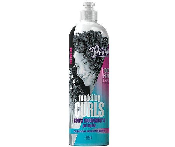 Gel Líquido Modeling Curls 315ml - Soul Power