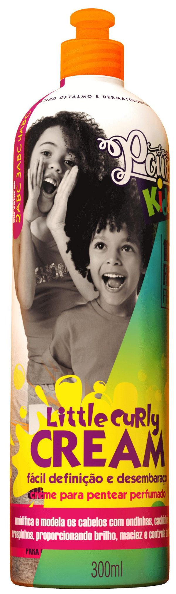 Creme de Pentear Infantil Little Curly Cream 300ml - Soul Power