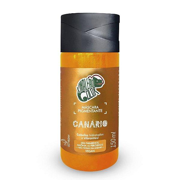 Máscara Pigmentante Canário 150mL - Kamaleão Color