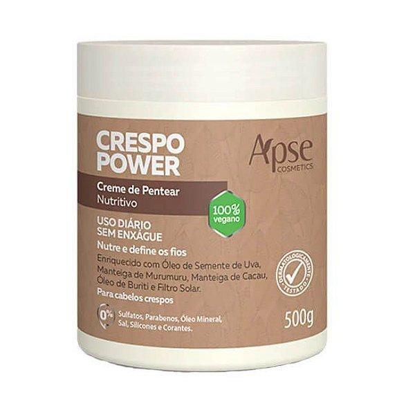 Creme de Pentear Nutritivo Crespo Power 500g - Apse