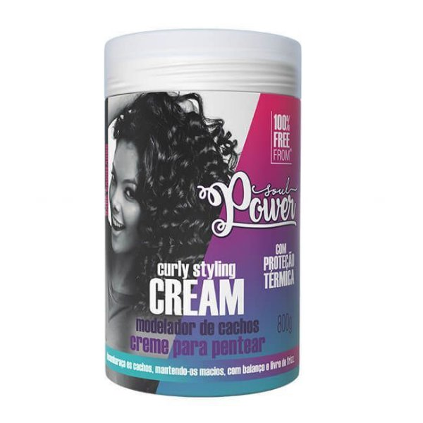 Creme para Pentear Curly Styling Cream 800g - Soul Power