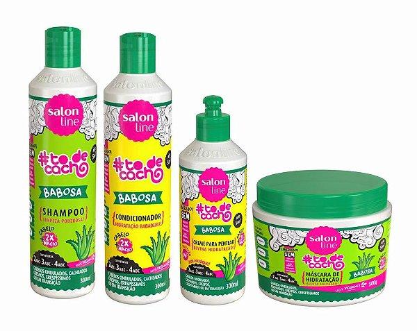 Kit Babosa Liberado To De Cachos - Salon Line