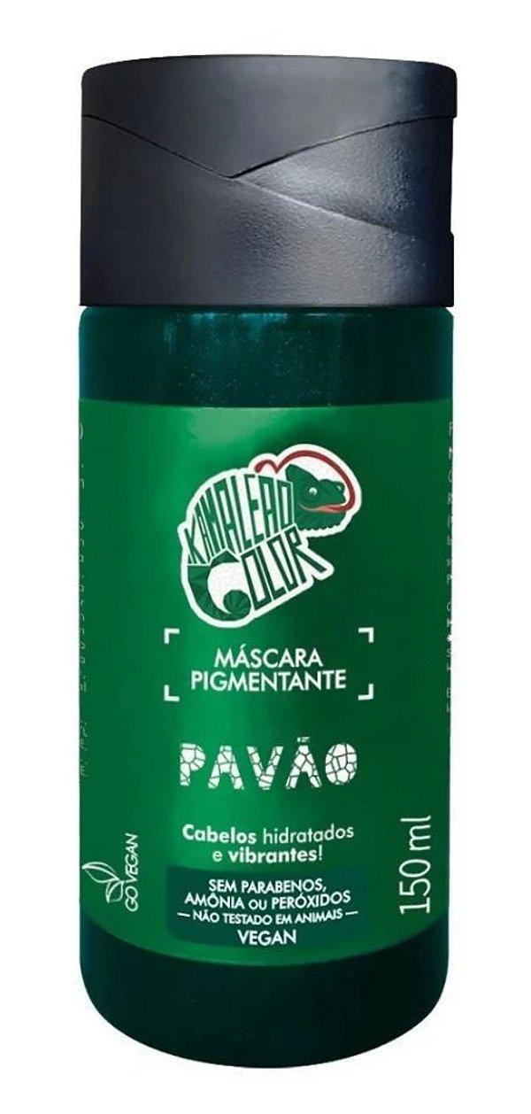 Máscara Pigmentante Pavão 150mL - Kamaleão Color
