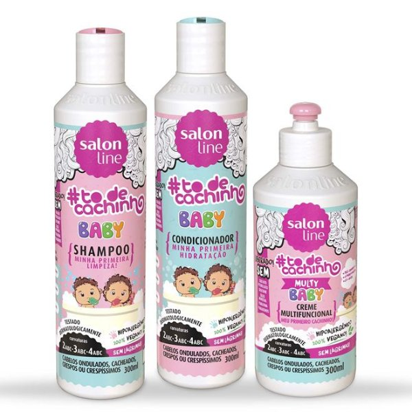 Kit Completo To De Cachinho Baby - Salon Line