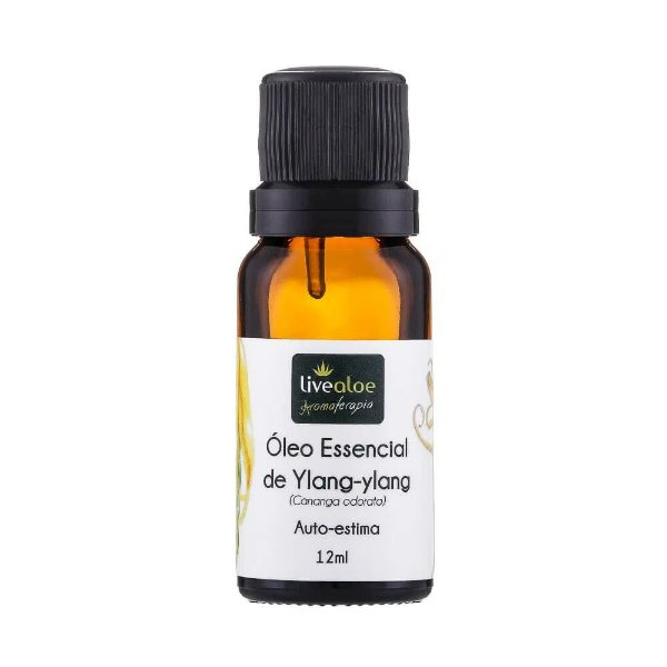 Óleo Essencial Natural de Ylang Ylang 12 ml – Livealoe