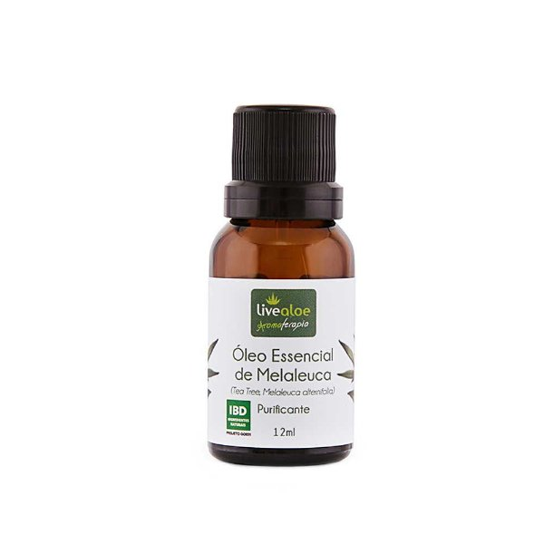 Óleo Essencial Natural de Melaleuca 15ml – Livealoe