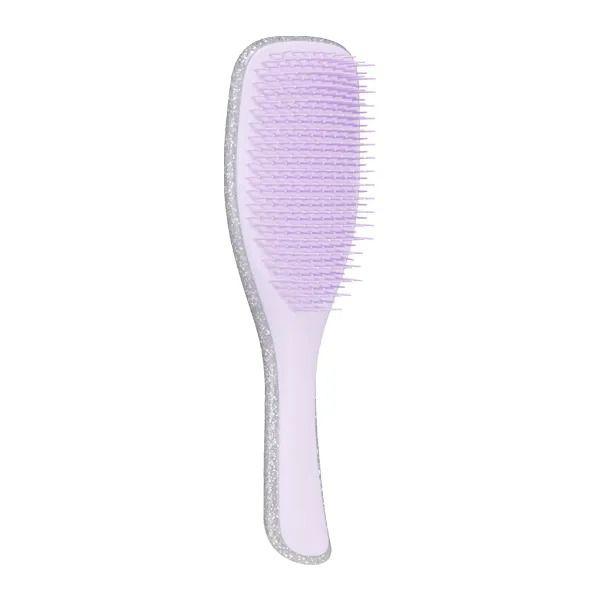 Escova Tangle Teezer Wet Detangler - Silver Glitter/Lilac - EDIÇÃO ESPECIAL