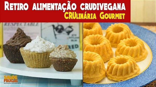 Retiro CRUlinária Gourmet - 5 dias aulas culinárias, palestras e imersão