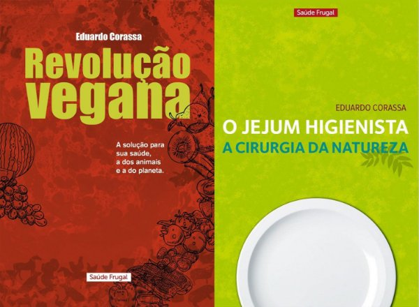 Combo promocional - Jejum Higienista e Revolução Vegana 1 edição