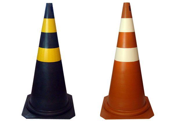 Cone de Sinalização de Trânsito 75 cm Vonder