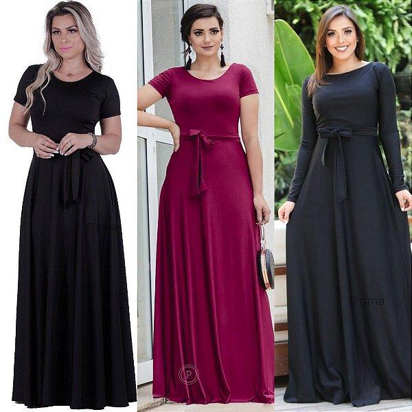Vestidos Longos  (Kit com 5)