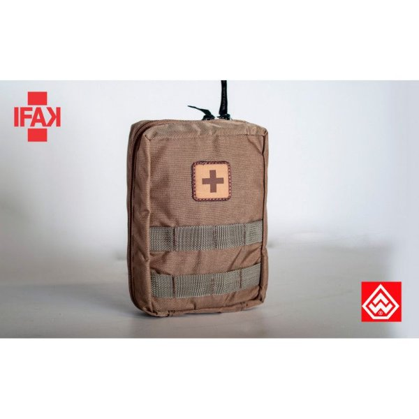 Bolso IFAK Individual First Aid Kit - Primeiros Socorros - Warfare - Coyote