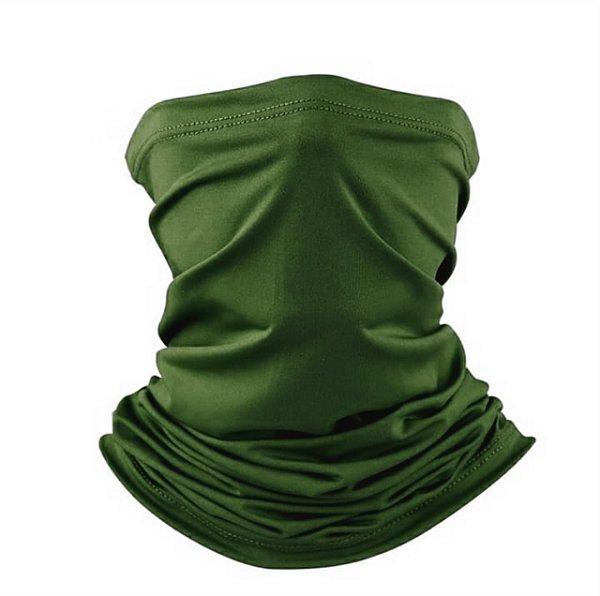 Balaclava Tube Verde Oliva - Proteção UV