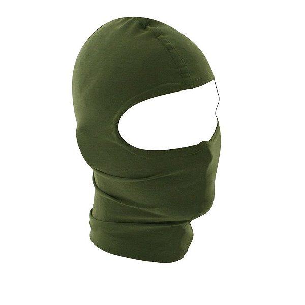 Balaclava Verde Oliva - Proteção UV