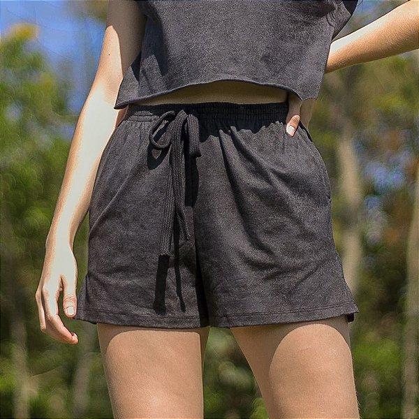 Shorts Tie Dye - Black