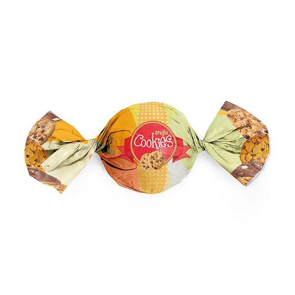 Papel Trufa 15x16cm - Cookies - 100 unidades - Cromus - Rizzo Embalagens