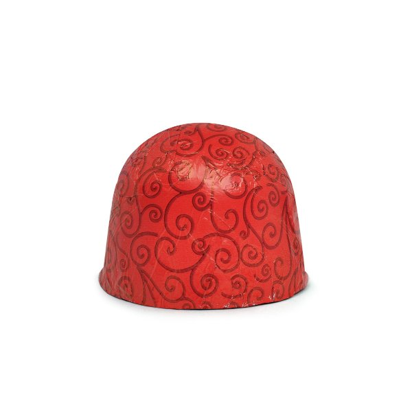 Papel Chumbo 10x9,8cm - Arabesco Vermelho - 300 folhas - Cromus - Rizzo Embalagens