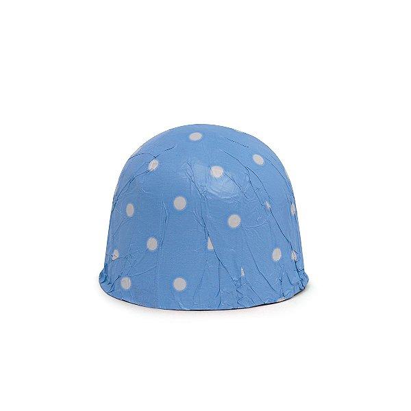 Papel Chumbo 16x15,6cm - Poá Azul - 300 folhas - Cromus - Rizzo Embalagens