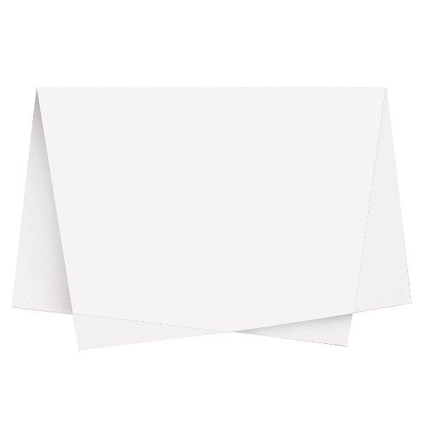 Papel de Seda - 49x69cm - Branco - 100 folhas - Cromus - Rizzo Embalagens