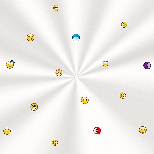 Saco Decorado Emotions - 11x19,5cm - 100 unidades - Cromus - Rizzo Embalagens