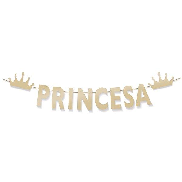 Faixa Decorativa Princesa Festa Reinado da Princesa - Cromus - Rizzo Festas