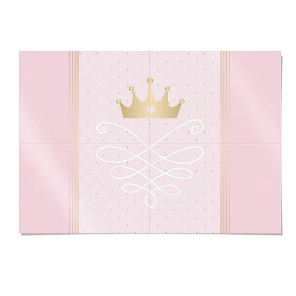 Painel Decorativo Festa Reinado da Princesa - Cromus - Rizzo Festas