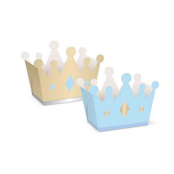 Cachepot Coroa Festa Reinado Do Principe - 8 unidades - Cromus - Rizzo Festas