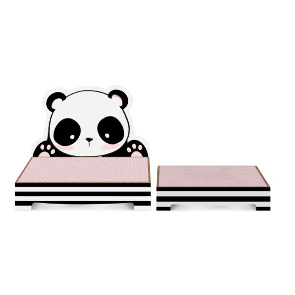 Kit Suporte para Doces Festa Panda - 2 unidades - Cromus - Rizzo Festas